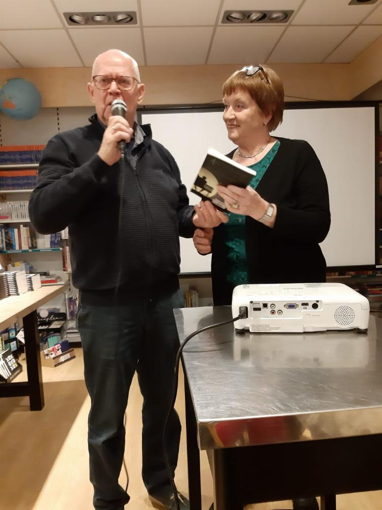 Succesvolle boekpresentatie in Kapelle op 7 februari